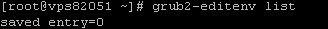 Настройка grub2 в CentOS