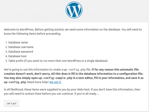 Установка Wordpress на VPS